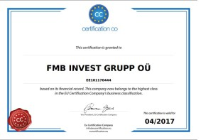 CC sertifikatsioon 2016